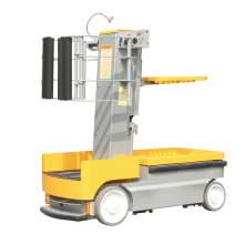 "Self Propelled Order Picker  200 lbs Cap 122"" height"