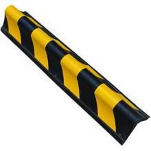 "Rubber Corner Guard  Wall Protector for Garage 31""L × 2.5""W × 2.5""H"
