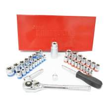 1/4 in and 3/8 in Drive 40 Pieces Ratchet & Socket Set