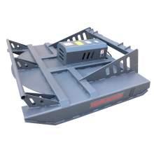 """72"""" Skid Steer Hydraulic Heavy Duty Brush Mower Cutter"""