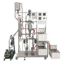 """2 L/h CBD 3"""" Stainless Steel Wiped Film Short Path Molecular Distiller"""