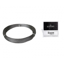 "Galvanized Cable 1/16"" x 100' Capacity 96 Lbs 7x7"