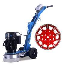 Electric edge floor grinder 10'' grinding diameters&10'' grinding head