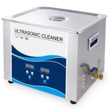 Digital Ultrasonic Power Cleaner 360W 4Gal Degas PCB Motor Parts 40Khz