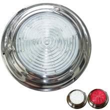7'' Marine Dome Light 12v Led White Red Switched