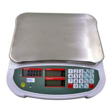 Digital LCD Compact Bench Counting Scale 6.6lb/3kg x 0.0002lb/0.1g