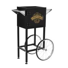 Trolley Cart  for 4 oz. Popcorn Machine Color Black