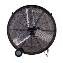 ETL 8913cfm ETL 30'' High Velocity Industrial 2-Speed Metal Floor Drum Fan Direct Drive Portable Tilt Drum Blower Fan