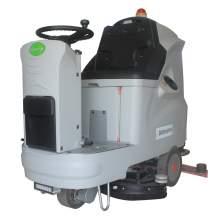"30"" Auto Ride-On Floor Scrubber 24V/200Ah 29 Gal"