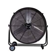 10780cfm ETL 30'' High Velocity Industrial 2-Speed Metal Floor Drum Fan Direct Drive Portable Tilt Drum Blower Fan