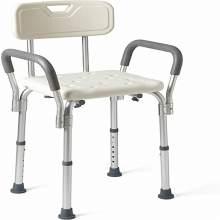 Adjustable Medical Bath Seat Bathtub Chair With Arms For Elderly
