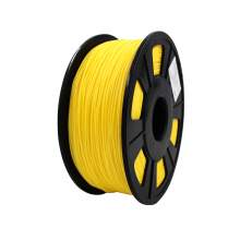 3D Printer Yellow FLEX Filament Dimensional Accuracy+/-0.02 mm 1 kg