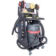 Auto Dust-free Dry Grinding Machine 1250W Collecting Polisher