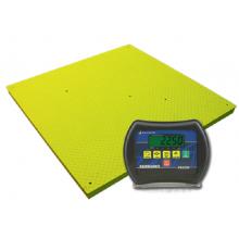 Fairbanks 4' x 4' Yellow Jacket Floor Scale Package 2,500 lb Capacity