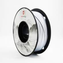 1.75mm PLA SILK Silver Filament 1kg/2.2Lbs for 3D Printer