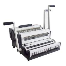 Multi-functional 2 IN 1 Wire And Spiral Binding Machine