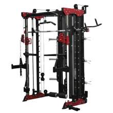 Home Gym Smith Machine Functional Trainer Cable Crossover