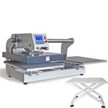 "16"" x 20"" Upper Sliding Pneumatic Heat Press Machine with Free Table"