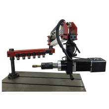 """1/2""""-7/8"""" Touch Screen 360° Universal Electric Tapping Machine 220V"""