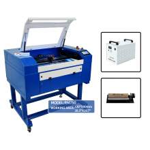"""New Benchmark Reci 90W 27-1/2"""" x 19-11/16"""" Laser cutter Rotary Chiller"""