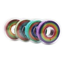 1.75mm PLA / SILK Rainbow Filament Set 1kg/2.2Lbs for 3D Printer