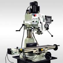 "ZA45GPD 9 1/2"" x 32"" GEAR-HEAD MILL DRILL WITH POWER FEED AND 2 AXIS DRO"