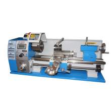 "Variable Speed 8"" x 15"" Bench-top Brushless Metal Lathe Digital"