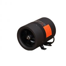 8 Inch Mixed Flow Inline Fan with 179W 3250RPM