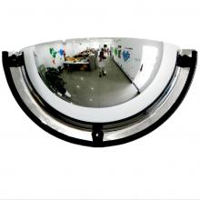 26'' Dia Acrylic Half Dome Mirror 180 Degree Viewing Angle