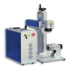 60W MOPA Fiber Laser Marking Machine,Fiber Laser Engraver 6.9in