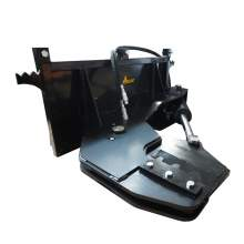 """Skid Steer Tree Shear Attachment That Cuts Up To 12"""" Dia Trees"""