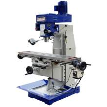 """Bolton Tools 10"""" x 48"""" Vertical Mill with Power Feed ZX1048P-460V"""