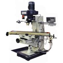 """Bolton Tools 10"""" x 48"""" Vertical Mill with Power Feed and DRO ZX1048PD-440V"""