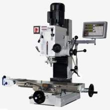 "Bolton Tools ZX45PD 9 1/2"" x 32"" Gear Drive Milling Machine W. X Axis Power Feeder & 3 Axis DRO"
