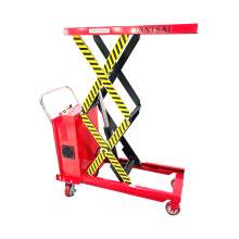 Electric Scissor Lift Table Cart 1100lbs Max. Height 59 in