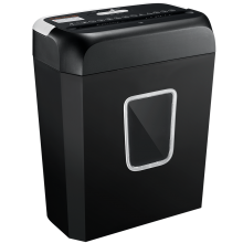 6-Sheet Capacity Cross-cut Credit Card 3.5-gallon Shredder