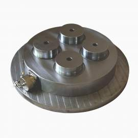 """Electro Permanent Round Magnetic Chuck For CNC Holding 9-27/32"""""""