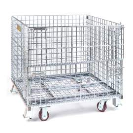 Bulk Containers,Collapsible Wire Containers, Folding Wire Containers,Folding Bulk Containers,Wire Containers Containers,Wire Mesh,Heavy Wire Containers,Wire Folding Bulk Containers,Storage Cage