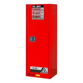 """Paint And Ink Cabinet 22 Gallon 65"""" x 23"""" x 18"""" Self-Closing Door"""