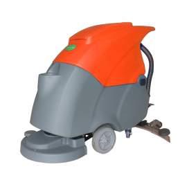 19'' Semi-Auto Walk-behind Floor Scrubber 2*12V/100Ah 15Gal