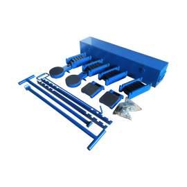 60Ton, 132200Lb. Heavy Duty Equipment Roller Machine Mover Kit