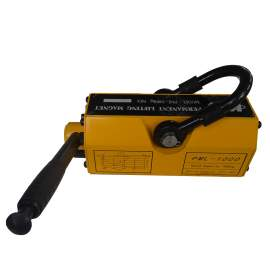 Permanent Magnetic Lifter 2200 LB/1000KG Capacity 3 Safety Coefficient