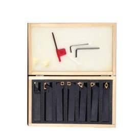 "12-126-S02 7 PCS 3/8"" Insert Tool Holders   Carbide Insets Set"