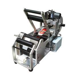 Round Bottle Labeling Machine with Coding Machine d