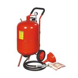 20 Gallon Portable Air Pressure Abrasive Blaster Tank with Blast Hose
