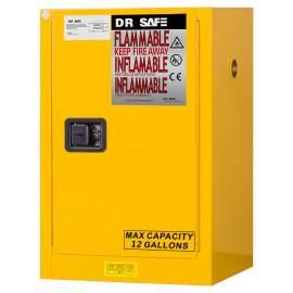 "Flammable Cabinet 12 Gallon 35"" x 23"" x 18""  Self-Closing Door"