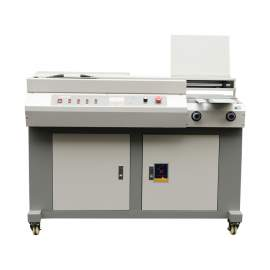 """12.6"""" Automatic Perfect Binder Glue Binding Machine With Side Gluing"""