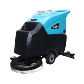 """Electric Auto Floor Scrubber 20"""" Cleaning Path 10/13 Gal Tank Cordless"""