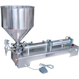 "1-10 OZ Paste/Liquid Filling Machine for Soft Drink 15/32"" Nozzle"