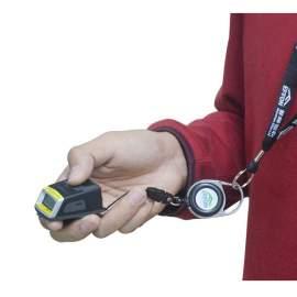 Neck Wrist Lanyard Portable Mini Bluetooth 2D Barcode Scanner